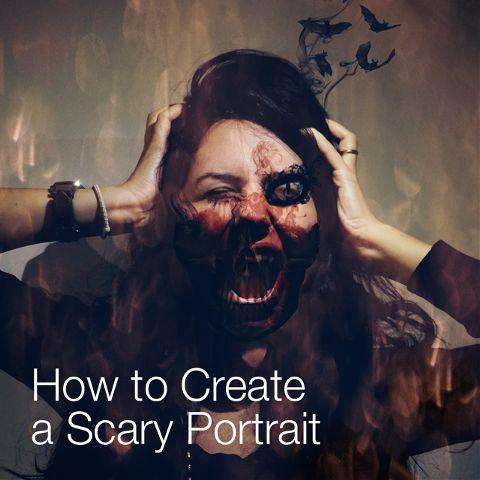 scary halloween photo edits