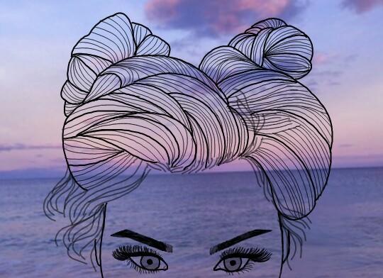 Freetoedit Sea Purple Tumblr Outlines Tumblroutlines