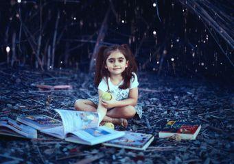 cute night forest books