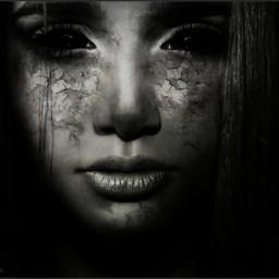freetoedit darkart artisticselfie illusions emotions