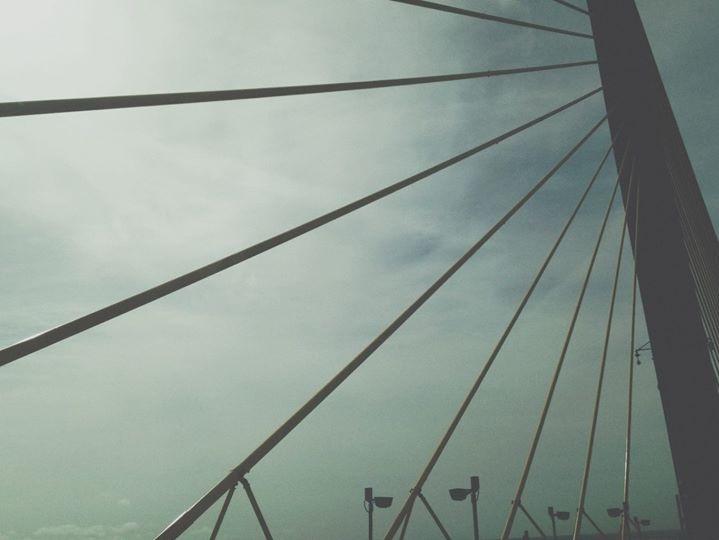 Bridge #interesting #art #travel #bridge #sky #vintage #picoftheday #photography #photostory #moody #frozen #florida