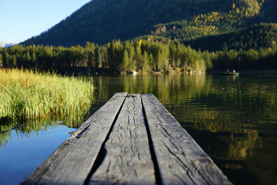 #photography #nature  #autumn #lake #bavaria  #hintersee