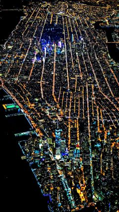 mycity manhattan city night photography