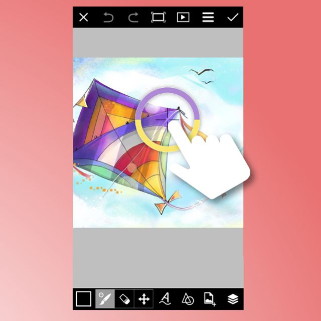 color chooser in draw