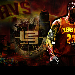 lebronjames kingjames colorful speedvisiongraphics digitalart