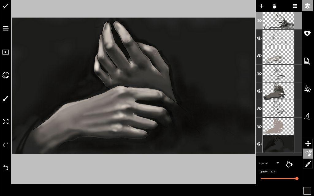 background darkening