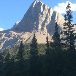 mountain nature mountainside explorealberta canmore
