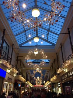 cristmas decoration london mall