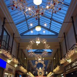 cristmas decoration london mall