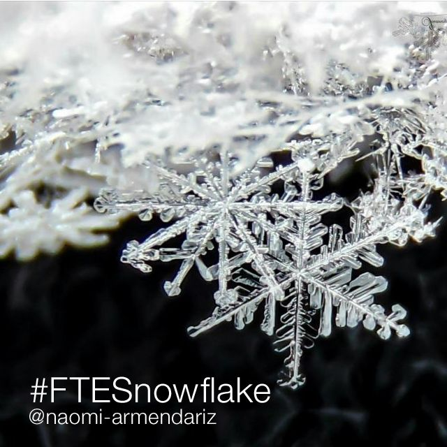 editing picture of a snowflake