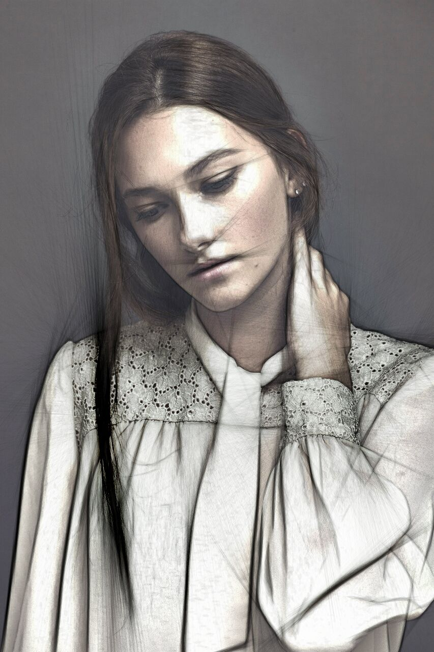 #portrait #drawing #sketch #model #body