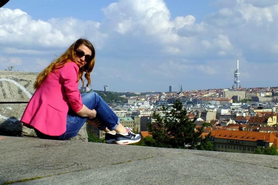 #tereska112  #praguegirl   #letnapark
