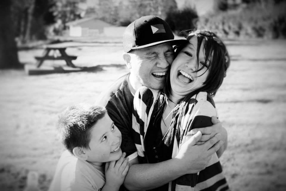 #wpphappy My beautiful family  #people #love #blackandwhite #cute #emotions #photography