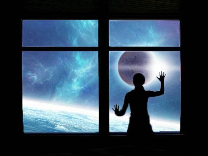 Window #interesting #art #nature #people #sky #freetoedit  #night #galaxy #photography #
