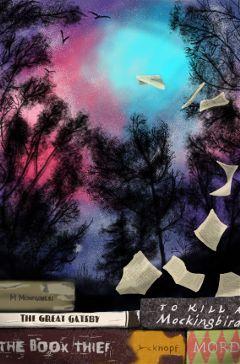 wdptreeline books drawing gatsby trees