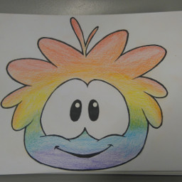 puffle rainbow