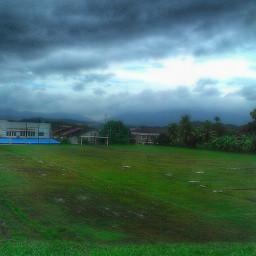 sky rain dark