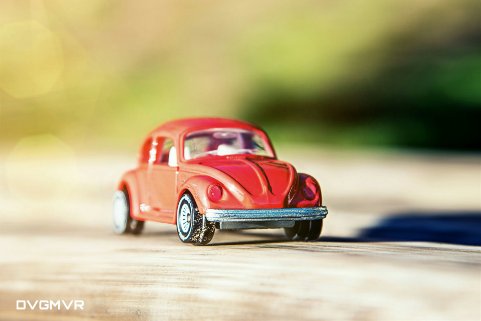 ... on the road  ... I don't mind a little dirt! :)  #red #cars #colorful #cute #emotions #travel #vw