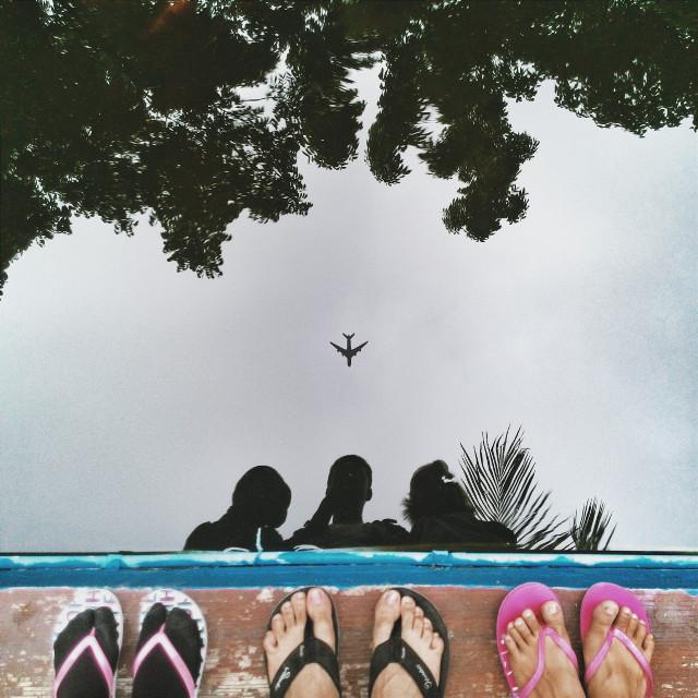 #PutAPlaneOnIt  #madewithpicsart  #reflection
