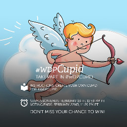 contest drawing cupid