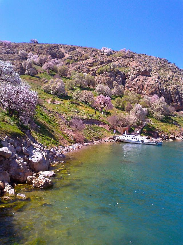 Akdamar island van/turkey in spring 😜