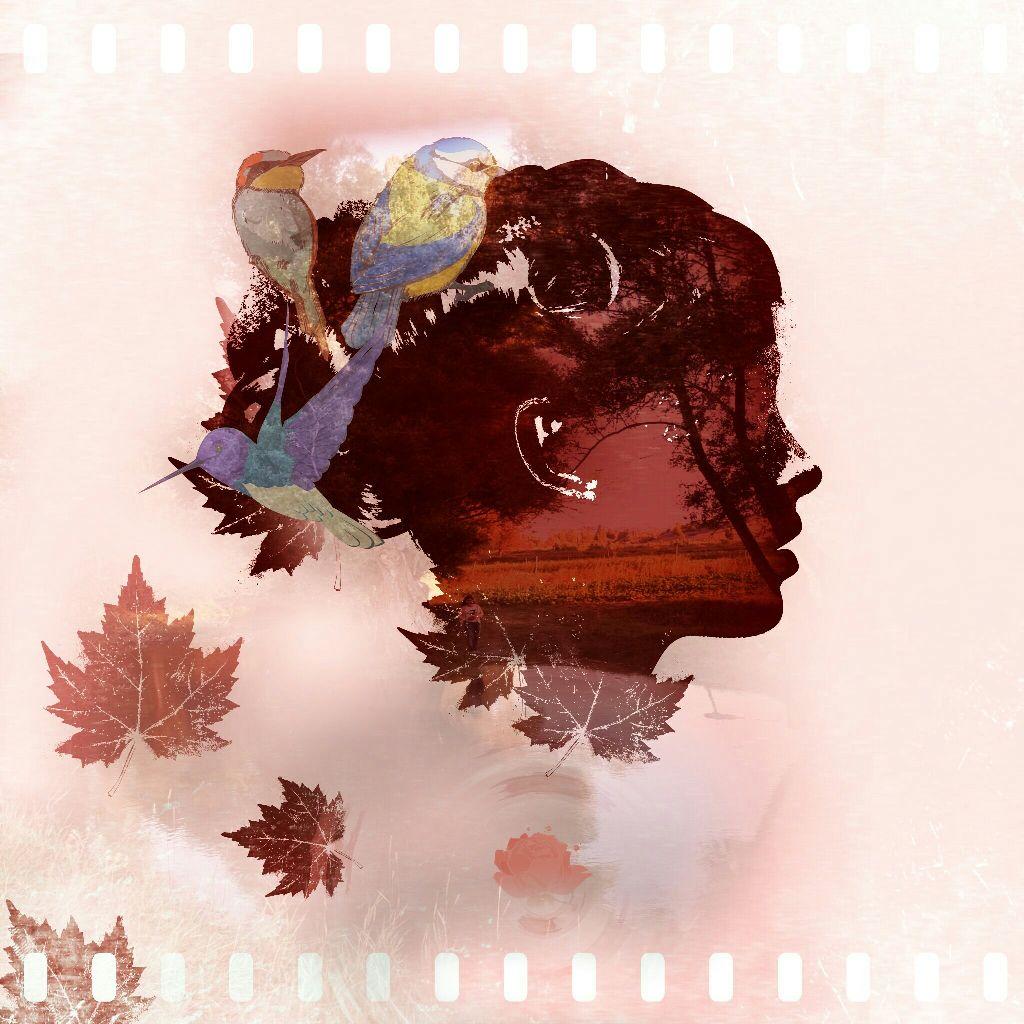 #blackandwhite #colorsplash #cute #colorful #freetoedit #flower #vintage #tree #doubleexposure #madewithpicsart