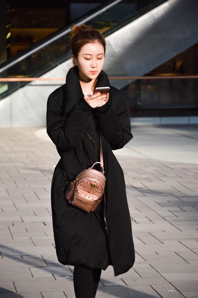 #girl #black #fashion #photo #street #spring #taikooli