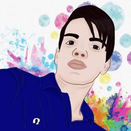 illustration drawing colorful freetoedit colorsplash