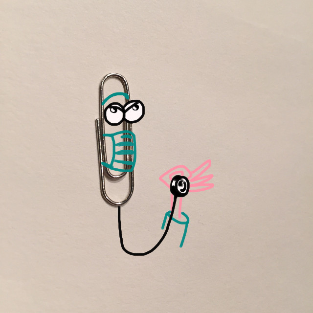 What the doctor say… #art #creative #imagination #draw #clip #doctor