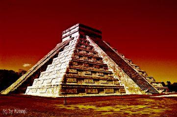 mexico mhnec chichenitza maya pyramid