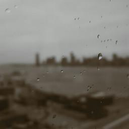 cityscape newyorkcity rain