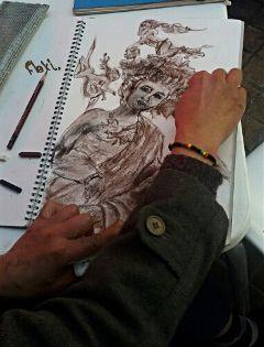 fallas drawing