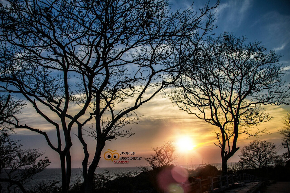 Sunset @Si Chang  #beach #colorful #hdr #Sunset #sea
