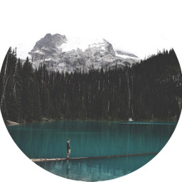 freetoedit mountains shapemask bluelake turquoise