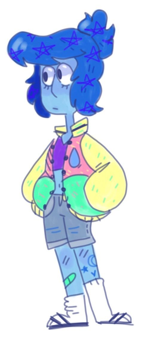 People Who Draw Lapis In Colorful Varsity Jackets Kno