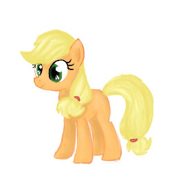 mlp manesix applejack pony mylittlepony