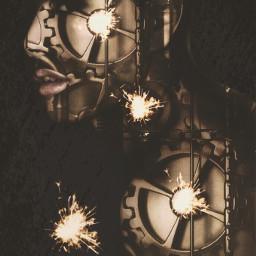 ftesparkler edited abstract fantasy shapemask