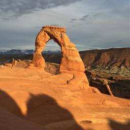arch delicatearch utah moab sunset