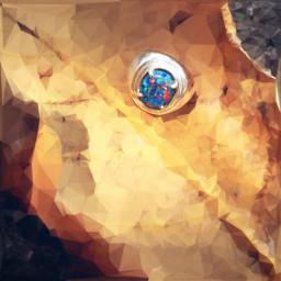 polygon freetoedit art interesting ring