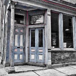 doors building architecture blackandwhite colorsplash