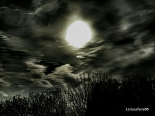 nature photography hdr clouds moon