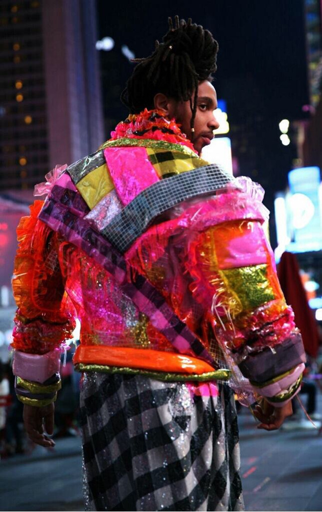 This how I stand out #elephant in the #city #nyc #timessquare #art #artist
