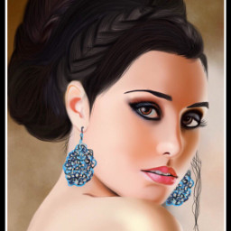 wdphairstyle portrait drawing mydrawing art