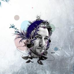 art artistic digitalart graphicdesign portrait
