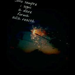 dream stars sunset