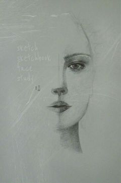 sketch drawing pencil myedit portrait