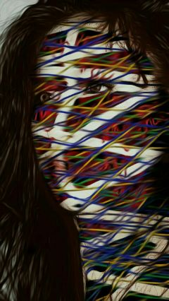 weaving oilpainting artisticselfie selfportrait freetoedit