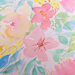 freetoedit watercolor watercolorpainting watercolorflower watercolorfloral