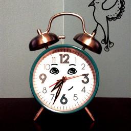 wdpbringtolife bird clock drawing sleep
