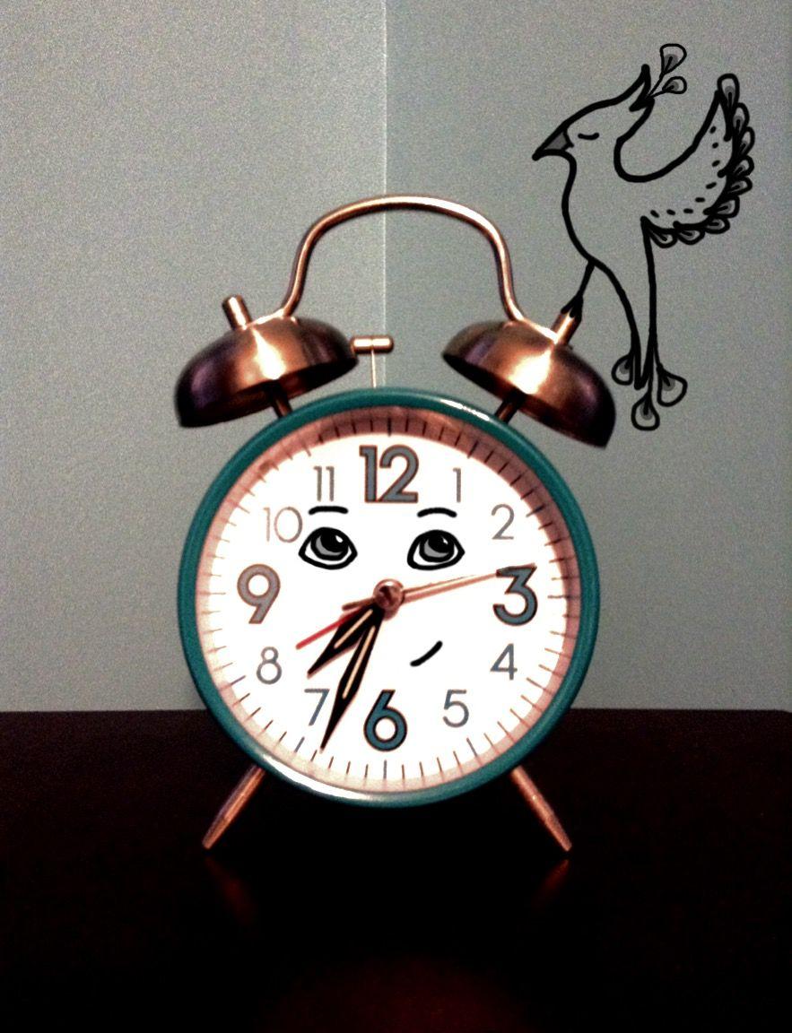#wdpbringtolife #bird #clock #drawing #sleep